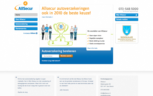Allsecur a company of Allianz