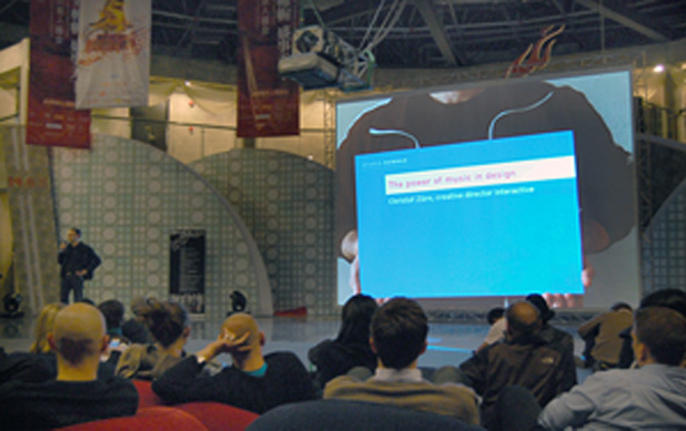 Christof Zürn at Creative Industry Week in Shanghai